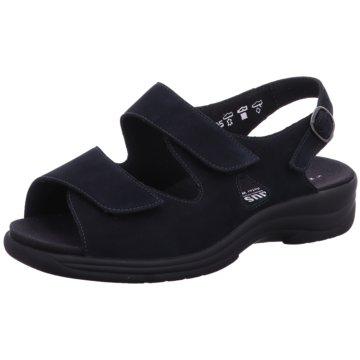 Solidus Komfort Sandale blau