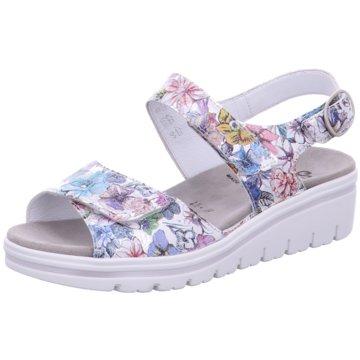 Semler Komfort Sandale bunt