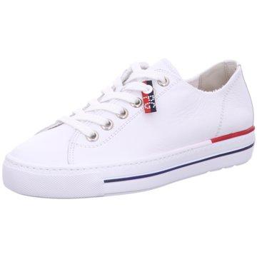 Paul Green Sneaker Low4760 weiß
