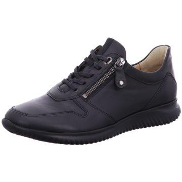 Hartjes Komfort Schnürschuh schwarz