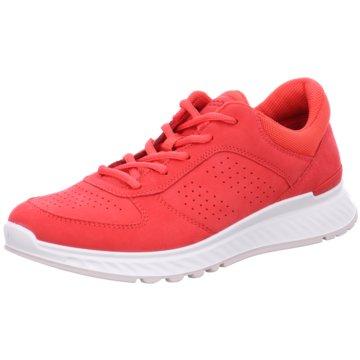 Ecco Sneaker LowECCO EXOSTRIDE W rot