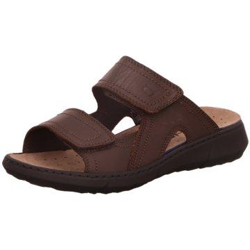 Rode Komfort Schuh braun