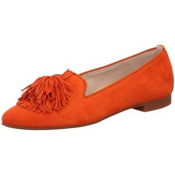 Paul Green Klassischer Slipper2376 orange