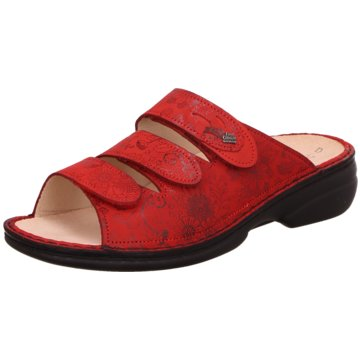 FinnComfort Komfort PantoletteKos rot
