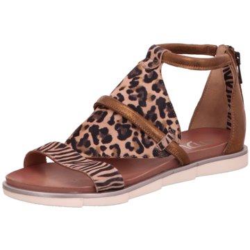Mjus Top Trends Sandaletten braun