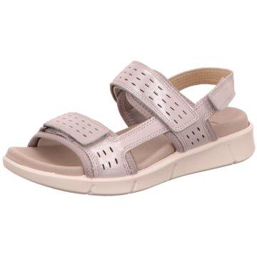 Legero Komfort Sandale silber