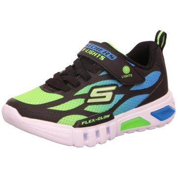 Skechers Sportlicher SchnürschuhS Lights Flex Glow Dezlo schwarz