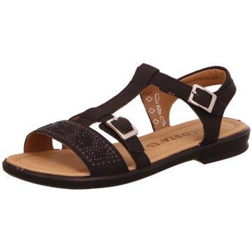 Ricosta Offene Schuhe schwarz
