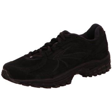 Brooks Sportlicher Schnürschuh schwarz
