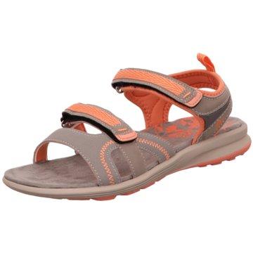 Lico Komfort Sandale grau