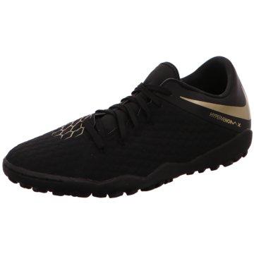 Nike Multinocken-SohleHypervenom PhantomX III AcademyTF schwarz