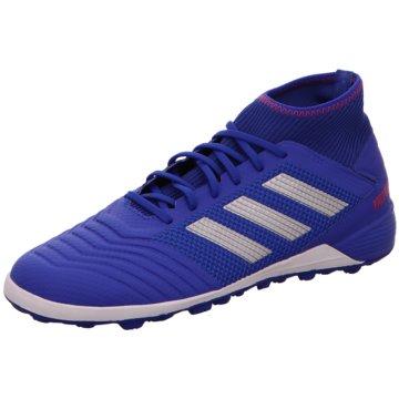 adidas Multinocken-SohlePredator 19.3 TF blau