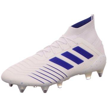 adidas Stollen-SohlePredator 19.1 SG weiß