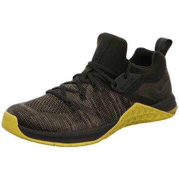Nike TrainingsschuheMetcon Flyknit 3 grün