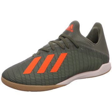 adidas Hallen-SohleX 19.3 IN - EF8367 grün