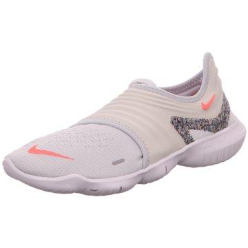 Nike Sportlicher SlipperFree RN Flyknit 3.0 AW Women weiß