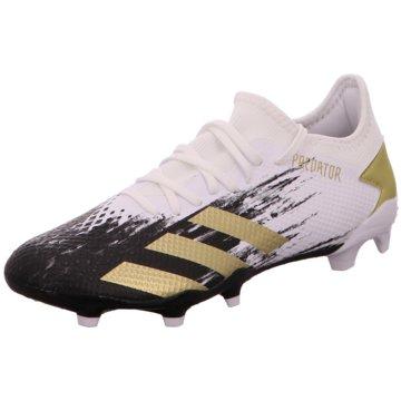 adidas Stollen-SohlePredator 20.3 Low FG weiß