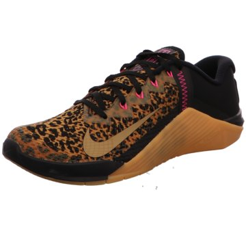 Nike TrainingsschuheWMNS NIKE METCON 6 - AT3160-096 braun