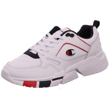 Champion Sneaker LowLander L weiß