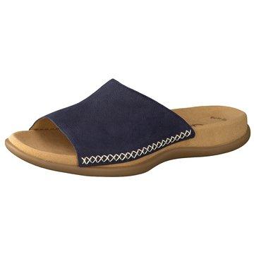 Gabor Klassische PantolettePantolette blau
