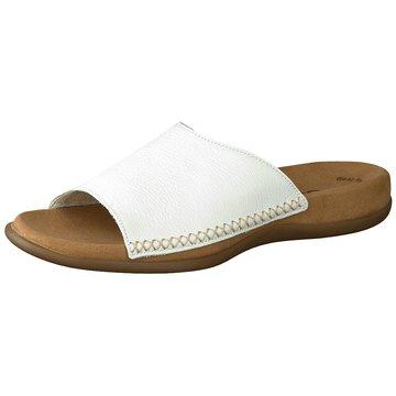 Gabor Klassische PantolettePantolette weiß