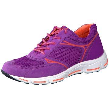 Gabor comfort Sportlicher SchnürschuhSneaker lila