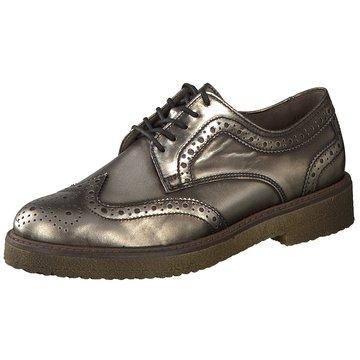 Gabor Eleganter SchnürschuhSneaker silber