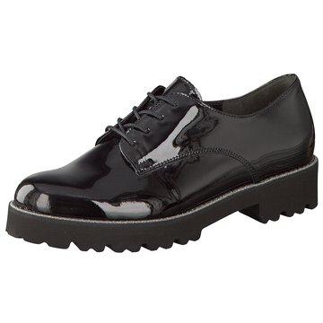 Gabor Eleganter Schnürschuh schwarz