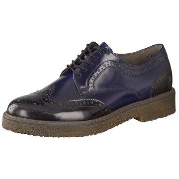 Gabor Eleganter SchnürschuhSneaker blau