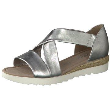 Gabor Sandale silber