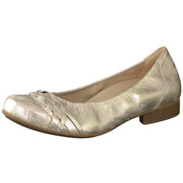 Gabor Klassischer Ballerina gold