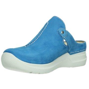 Wolky Clog blau