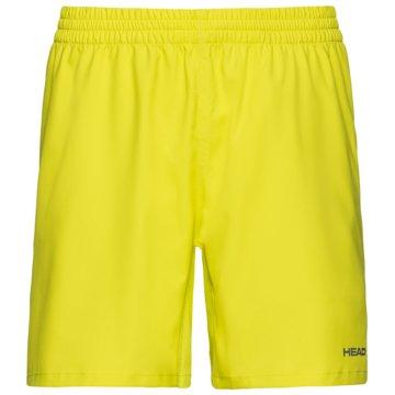 Head TennisshortsCLUB SHORTS M - 811379 gelb