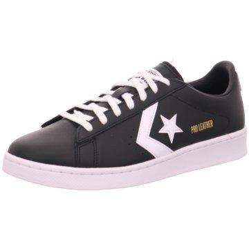 Converse Sneaker LowPro Leather Ox schwarz