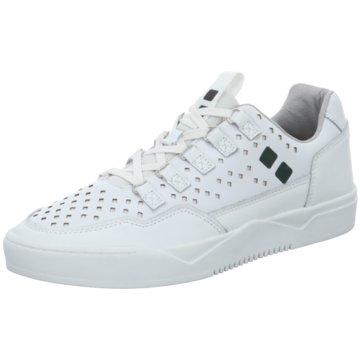 Mundart Sneaker Low weiß