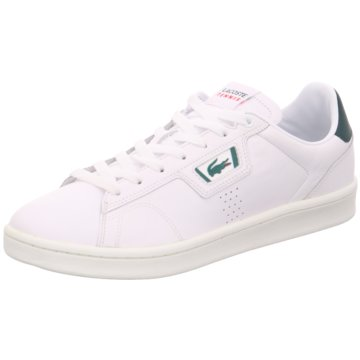 Lacoste Sneaker LowMasters Classic 07211 weiß