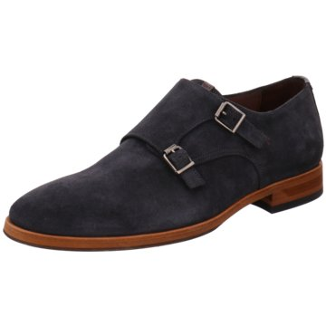 Floris van Bommel Business Slipper blau