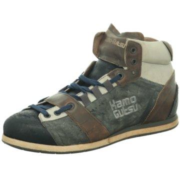 Kamo-Gutsu Sneaker High blau