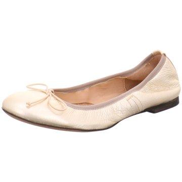 Donna Carolina Faltbarer Ballerina gold