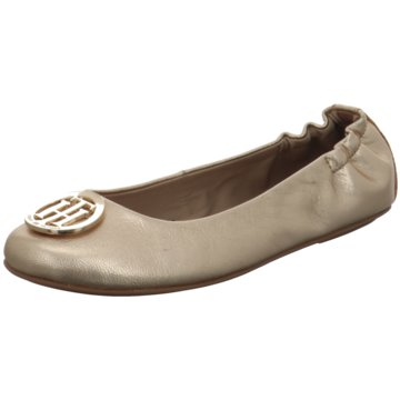 Tommy Hilfiger Top Trends Ballerinas gold