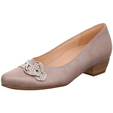 Gabor Flacher Pumps46.123.61 beige