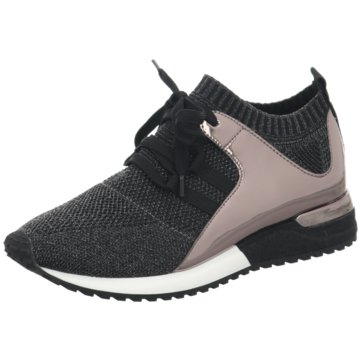 La Strada Sportlicher SchnürschuhKnitted Sneaker schwarz