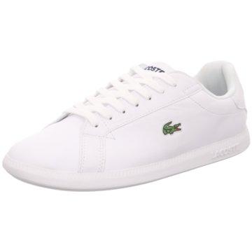 Lacoste Sneaker LowGRADUATE BL 1 SFA weiß