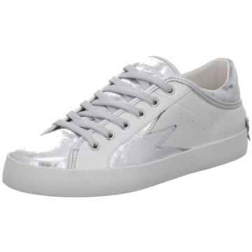 Crime London Sneaker Low silber