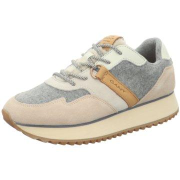 Gant Plateau Sneaker beige