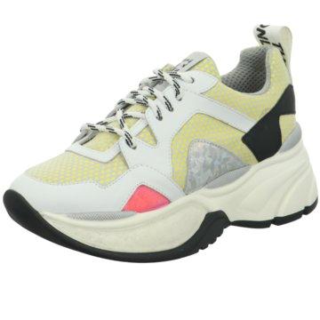 Meline Plateau Sneaker weiß