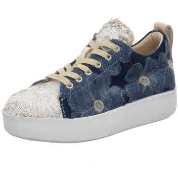 Andia Fora Plateau Sneaker blau