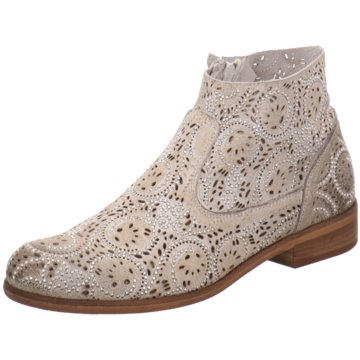CAFèNOIR Ankle Boot beige