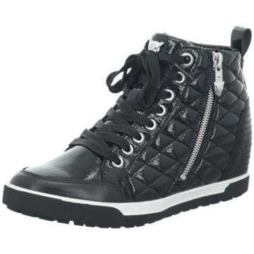Marc Cain Sneaker Wedges schwarz