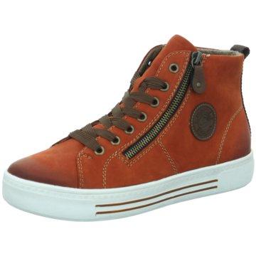 Remonte Plateau Sneaker braun